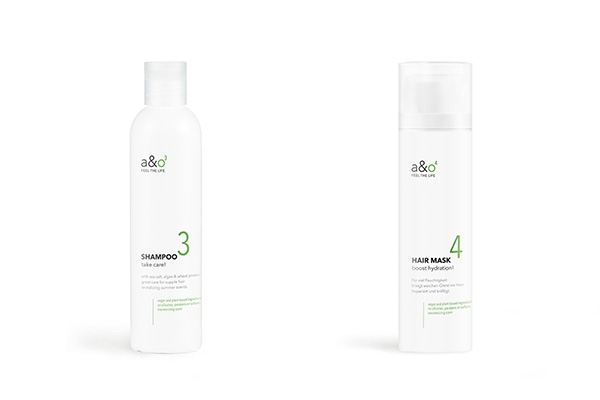 a&o Shampoo, Hair Mask